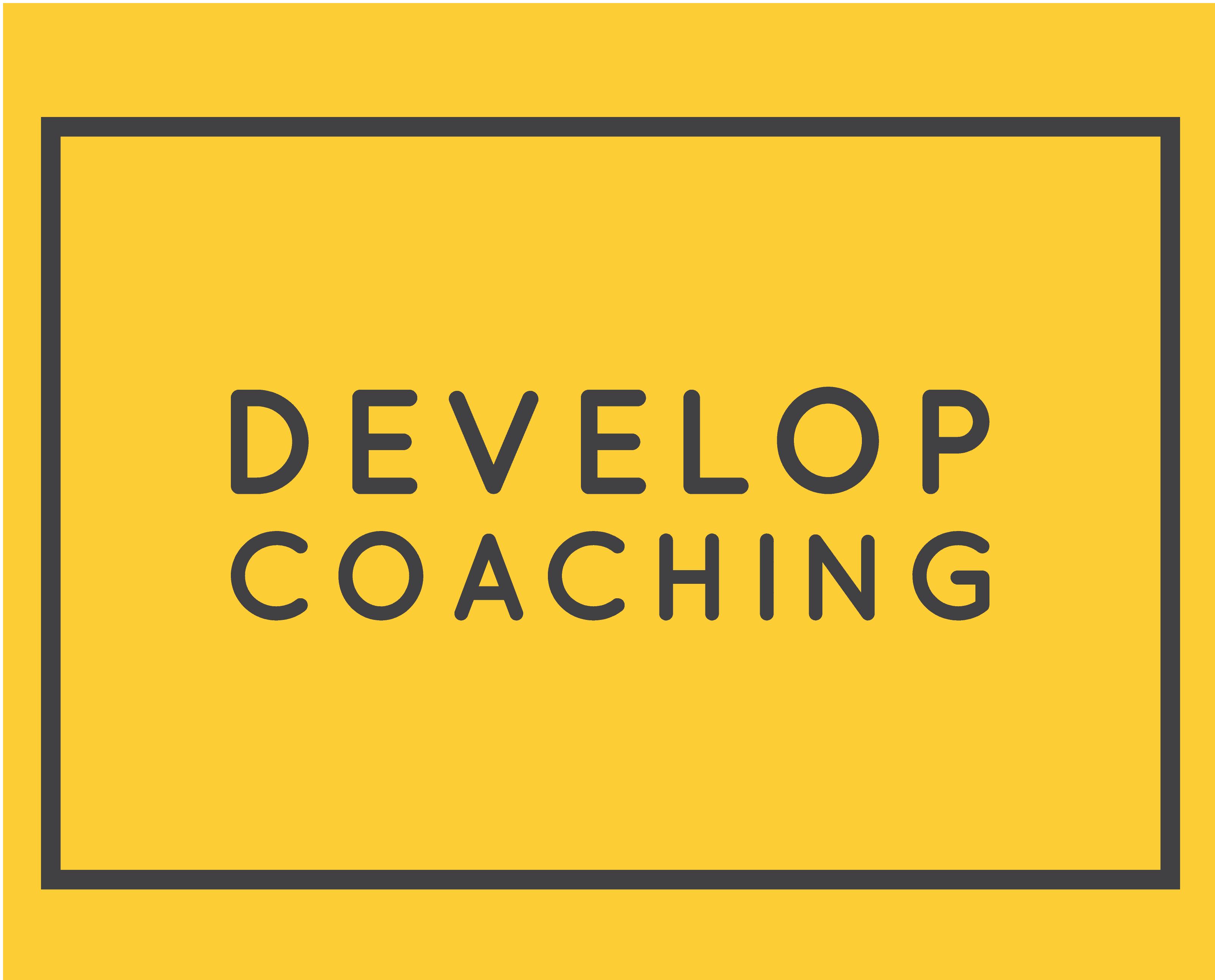 The Develop Coaching Logo